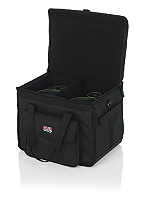 """Gator Cases Studio Monitor Tote Bag Holds (2) Powered Monitors Up to 5"""" Driver Range; Fits JBL, Mackie, KRK, & More (G-STUDIOMON1) from Gator Cases"""