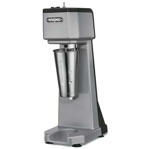 (Waring Commercial WDM120 Heavy Duty Diecast Metal Single Spindle Drink Mixer)