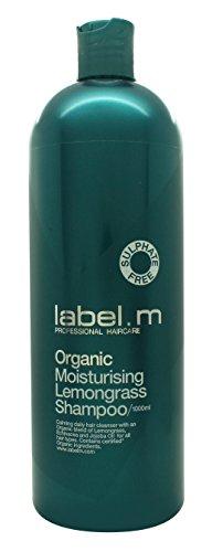 Label.M Organic Moisturizing Lemongrass Shampoo, 33.8 Ounce (Lemongrass Moisturizing Shampoo)