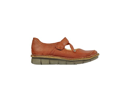 Wolky Womens 3204 Jewel Leather Sandals 356 brick leather