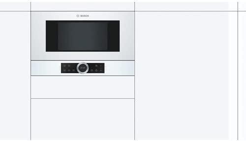 Bosch Serie 8 BFR634GW1 - Microondas (Integrado, Solo ...