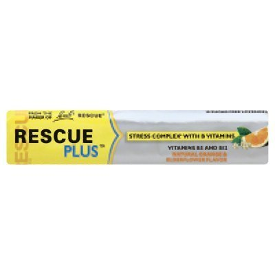 Bach Bach Rescue Plus Lozenge 10 Count (Pack Of 24)