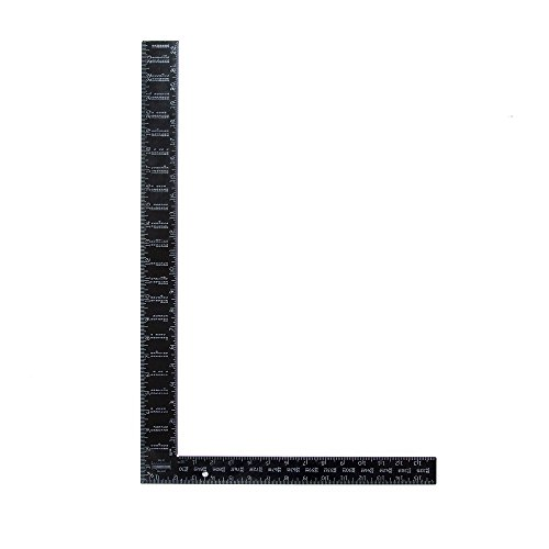 Swanson Tool TA126 Black Oxide Rafter Square 16-Inch X 24-Inch ()