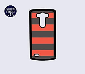 MEIMEILG G3 Case - Orange Grey Stripes iPhone CoverMEIMEI