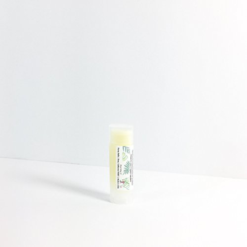 All Natural & Organic 'Kissable Lips' Mint Lip Balm Treatment For All Sensitive And Dry Lips - By Honey Belle