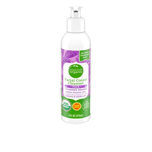 Simple Truth Organic Lavender Orange Facial Cream Cleanser 6