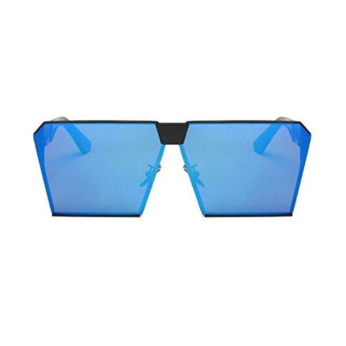 lunettes de lunettes M classique cadre voyage miroir luxe métal soleil carrées GAOLIXIA mode de ton hommes de aviateur femmes lunettes soleil ZwFY6