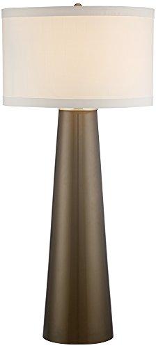 Tapered Column Table Lamp (Possini Euro Karen Dark Gold Glass Table Lamp)