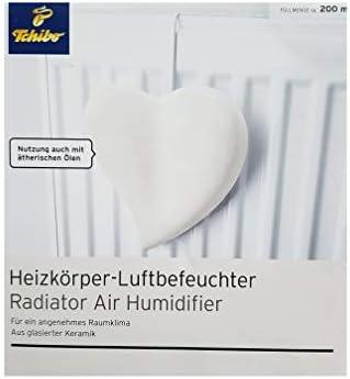 2 x Tchibo Keramik Luftbefeuchter Heizkörper Wasserverdunster Verdunster Heizung