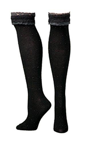 Blazin Roxx MF0497201 Women's Fashion Socks Black (Sparkly Cowgirl Hats)