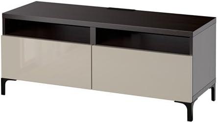 Ikea 18204.81126.1430 - Mueble de TV con cajones de Cierre Suave, Color Negro y marrón: Amazon.es: Juguetes y juegos