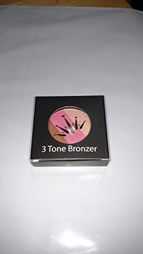 Crown Cosmetics 3 Tone Bronzer Blush Highlighter Makeup Palette by Touch Crown