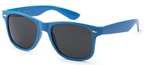 Bleu Non Lunettes 10 10 pièces Soleil Pièces complète Protection polarisées 10 Unisexes Bleu FSMILING de UV400 pièce waSwR
