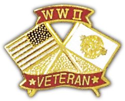 WWII Veteran Lapel Pin