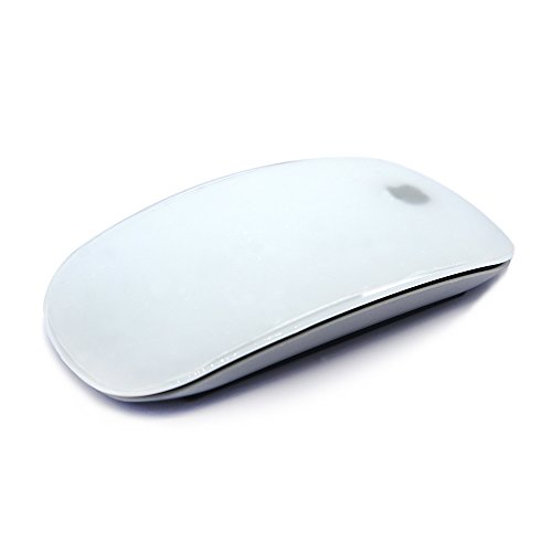 HRH Candy Transaprent Silicone Soft Mouse Cover Skin Protector Guard for Apple MAC Magic Mouse