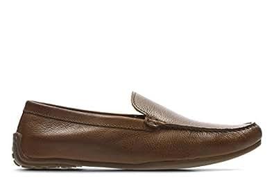 Clarks Reazor Edge, Men's Men Loafer Flats, Brown (Tan Leather), 9.5 UK (44 EU)