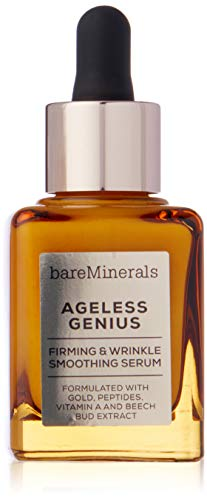 (BareMinerals Ageless Genius Firming and Wrinkle Smoothing Serum, 1 Ounce)