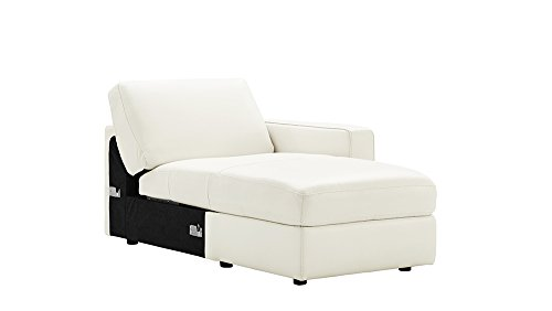 Rananto Off-White Right Arm Facing Storage Chaise