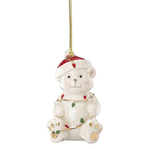 Lenox 868116  China Ornaments Tangled Christmas Bear