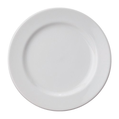 HIC Porcelain Salad Plate 7.5-inch by HIC Harold Import Co.
