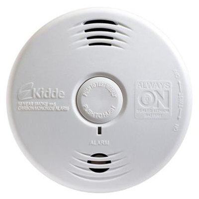 Kidde P3010CU Photoelectric Smoke & Carbon Monoxide Alarm with Voice Warning System by Kidde