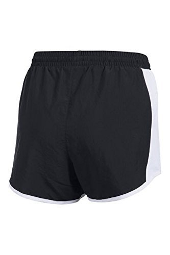 Mujer Under blanco Fly Armour By Short Negro Corto Pantalón FCz4qFg
