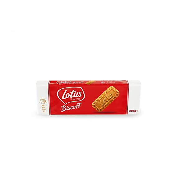 Lotus Biscoff Biscuit Packet, 250g