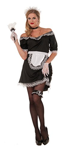 Forum Men's French Maid Value Costume, As Shown, SStandard ()