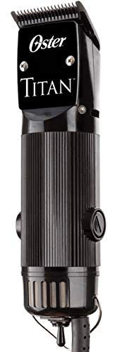 Oster Professional The Powerful Titan 76076-310 Two Speed Clipper with Blade Size''000'',''1'' and''00000''