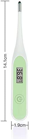 Accurate and Fast Readings for Child Adult Kids 2 Pack LCD Screen Temperature Oral Underarm Thermometer for Fever SONRU Digital Thermometer