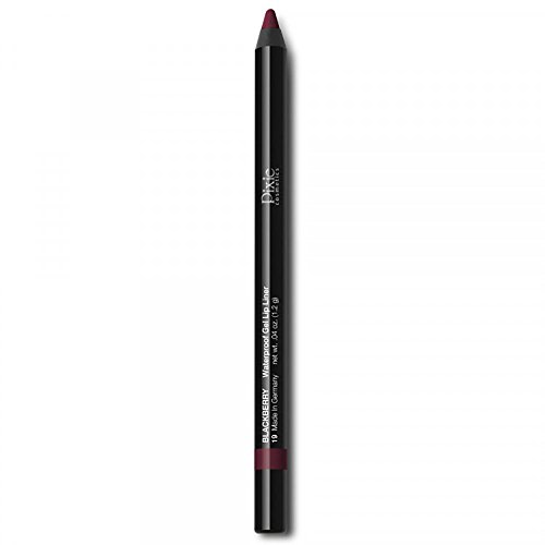 Pixie Cosmetics Sharpenable Waterproof Smudge-Proof Gel Lip Liner (Blackberry)