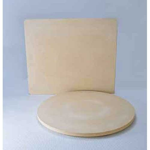 Oblong Pizza Stone, 14in. X 16in. X 1/2in. Thick -- 1 Each Oblong Stone