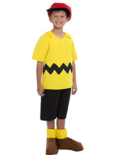 Snoopy Halloween Costumes Kids - Charlie Brown Boys Costume Size
