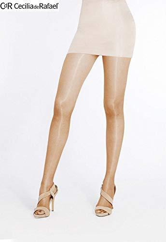 Sheer to Waist Pantyhose with 3d Lycra (4-Large, Bronze) ()