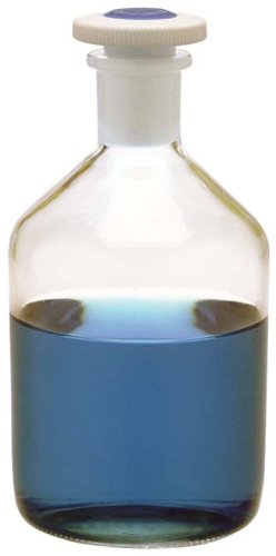 Kimax, Narrow Mouth Solution Bottle With PTFE Stopper, 2L (Pack of 1)