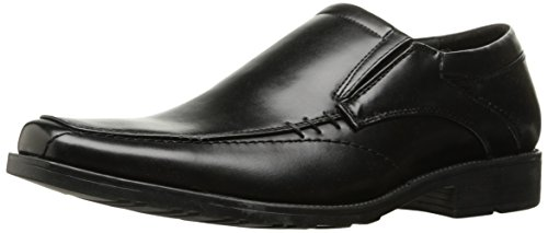 Kenneth Cole REACTION Men's Slick Deal Slip-on Loafer, Black, 10 M US