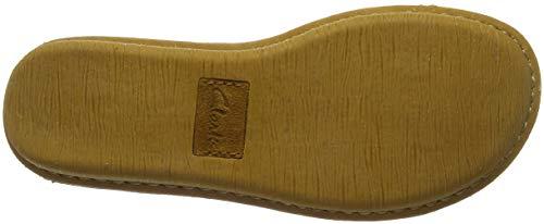 Donna Clarks Mustard Suede Dream Giallo Stringate Scarpe Funny qFIrwF