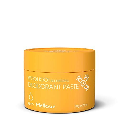 Woohoo! Body All-Natural Deodorant Paste (Mellow, 2.5 oz Jar)
