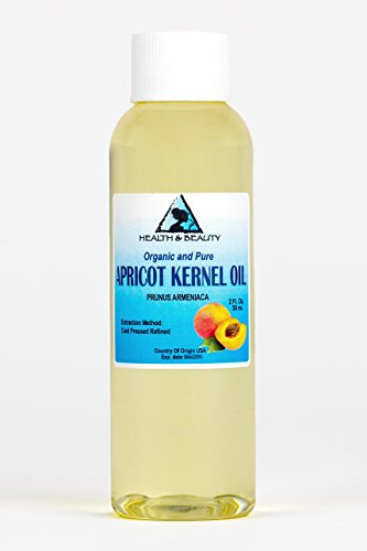 Apricot Kernel Oil Refined Organic Carrier Cold Pressed 100% Pure 2 oz