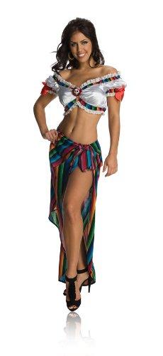 Serape Costumes (Secret Wishes  Sexy Serape Costume, Red, Medium)