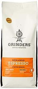 Grinders Coffee, Espresso, Roasted Beans, 1kg