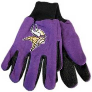 (McArthur 9960690669 Minnesota Vikings Two Tone Adult Size Glove)