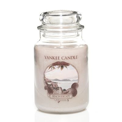 Yankee Candle 22 oz Large Limited Edition Jar Candle BEACH ESCAPE - RETIRED SCENT