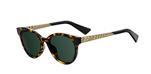 Authentic Christian Dior DIORAMA 7 S 2IK/QT Havana Gold - Sunglasses 7 Diorama