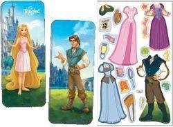 Disney Princess Paper Dolls - Magnetic Fun® Mini Tin: Disney Princess - Tangled