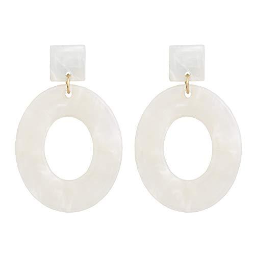 Crystal sugar Fashion Jewelry Female Boho Multicolor Resin Dangle Earring,E754-1