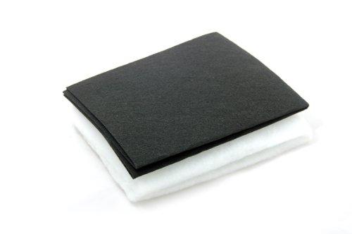 Homecare Essentials Limited - Filtro sostitutivo universale, antigrasso e antiodore, per friggitrice, sottile