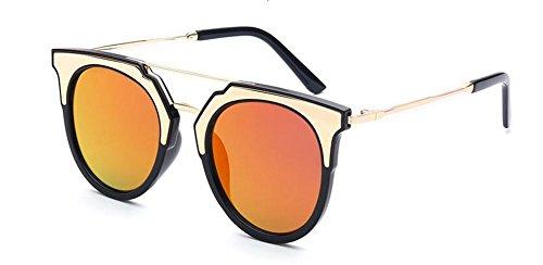 retro Violets rond vintage de polarisées lunettes cercle métallique Rouges Comprimés en Lennon style soleil du inspirées YTwZq