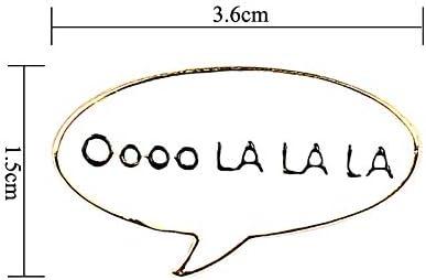 comme montr/é 1.5cm Doitsa 1PCS Broche Fantaisie Broche Bijoux D/écoration de V/êtements//Sac pour Femme//Homme Size 3.6
