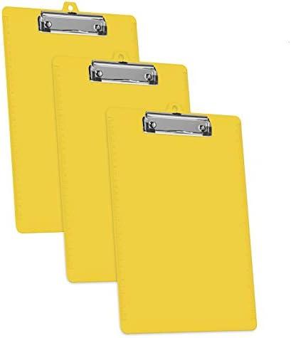 Acrimet Clipboard Letter Profile Plastic